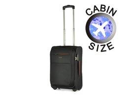Mała walizka PUCCINI EM-50307 Camerino czarna